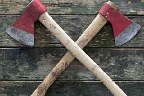 Battleaxe - Axe Throwing Session for Up to Six People - Save 35%