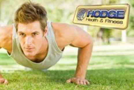 Hodge Health and Fitness - Nine Boot Camp Sessions For Two - Save 74%
