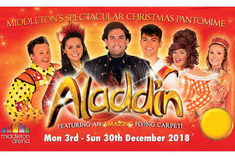 Shone Productions - Ticket to see Aladdin Live - Save 39%