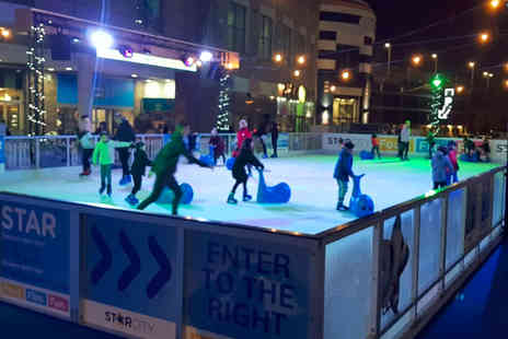 Ice Leisure Group - Ice skating and skate hire for one child or adult - Save 0%
