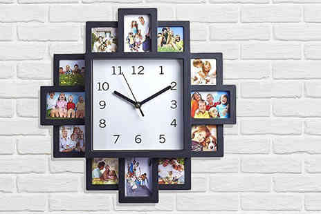 Direct 2 public - Photo frame clock - Save 73%