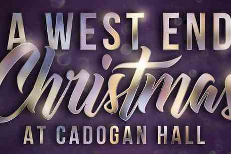Ingresso - A West End Christmas at Cadogan Hall - Save 0%