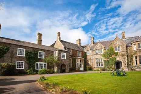 Northcote Manor Country House Hotel - Devon manor stay including gourmet dinner & wines - Save 53%