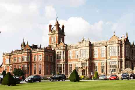 Crewe Hall - 17th century Cheshire manor spa day including 3 treatments - Save 0%