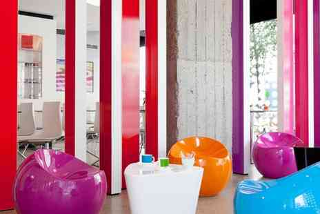 Pantone Hotel - Three Star Design Hotel Filled with Vibrant Colours For Two - Save 0%