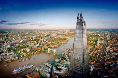 Virgin Experience Days - The View from The Shard and Thames Afternoon Tea Cruise for Two - Save 20%