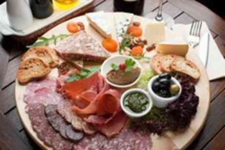 The Boot Inn - Antipasti sharing platter for 2 and large glass of wine each - Save 53%