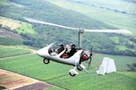 GS Aviation - One hour gyrocopter flying experience - Save 54%