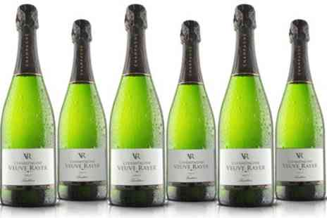 Virgin Wines Online - Six bottles of champagne - Save 44%