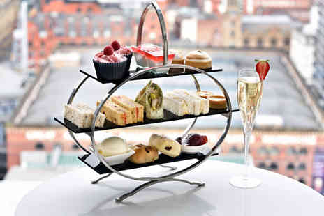 Hilton Manchester Deansgate - Aafternoon tea for two people with a cocktail each - Save 46%