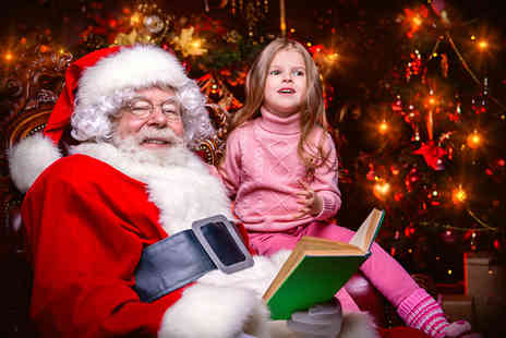 Fantastic Inflatable World - Santas grotto entry with a gift plus access to inflatable attractions from 16th to 23rd December - Save 40%