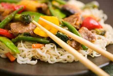 Wok Wow Noodle Bar - Chinese or Thai Meal Box and Side for One, Two or Four - Save 33%