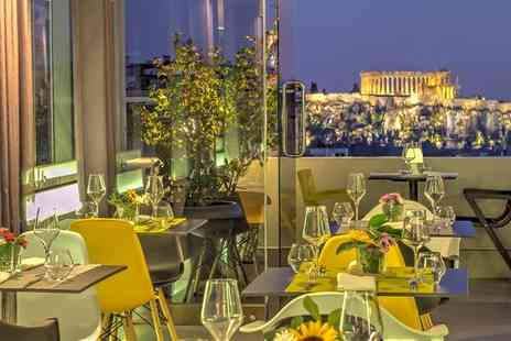 Polis Grand Hotel - Four Star Central City Hotel Stay For Two with Acropolis Views - Save 51%