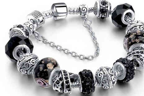 Marcus Emporium - 1 or 2 Charm Bracelets Available in 4 Colours - Save 80%