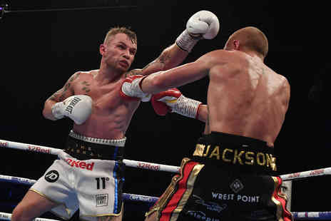 Just Book Sports - Carl Frampton v Josh Warrington block 208, 210 or 216 boxing tickets with overnight Manchester stay or block 204, 213 or 215 tickets - Save 0%