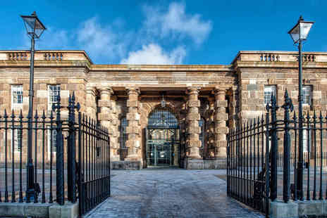 Crumlin Road Gaol - Crumlin Road Gaol guided tour and a main course each for two or four - Save 36%