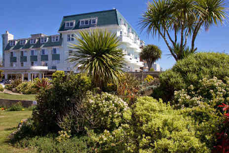 Hallmark Hotel - Overnight Bournemouth break for two with breakfast, three course dinner, glass of wine, leisure access and late check out - Save 64%