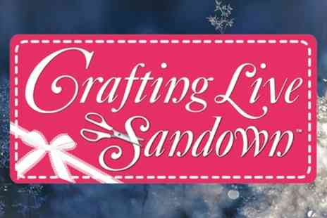 Crafting Live - Two one or two day tickets to Crafting Live on 26 To 27 January or 23 To 24 March - Save 42%