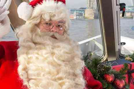 City Cruises - Sail With Santa London Sightseeing Tour, Festive Music, Story telling & a Gift from Santa for the Kids - Save 20%