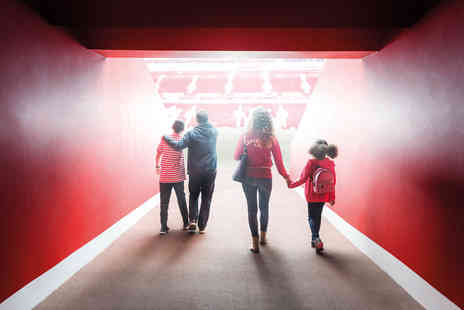 Virgin Experience Days - Liverpool FC Stadium Tour & Museum Entry with Overnight Stay for Two - Save 0%