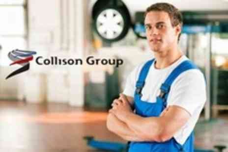 Collison Motoring Services - Car Air Conditioning Test and Re Gas - Save 66%