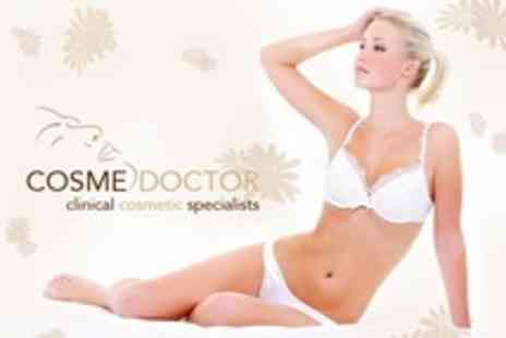 Cosmedoctor - Six Laser Hair Removal Sessions on Half Legs - Save 80%