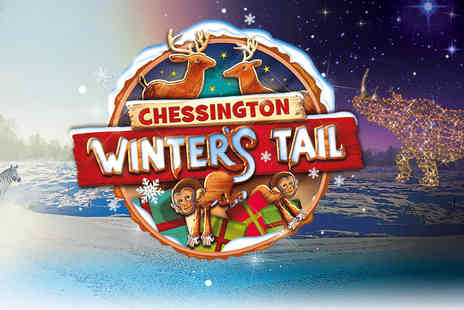 Chessington World of Adventures Resort - Twilight Chessington Winters Tail ticket from 3pm To 7pm - Save 14%