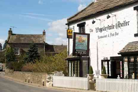 The Wensleydale Heifer - Yorkshire Dales stay at 17th century inn with dinner - Save 35%