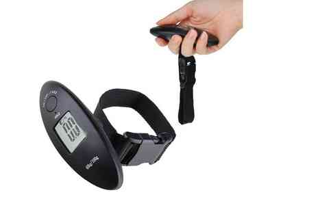 London Exchain Store - Digital luggage scale - Save 73%