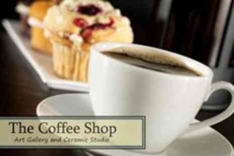 The Coffee Shop Ceramic Studio - Afternoon Tea For Four - Save 62%