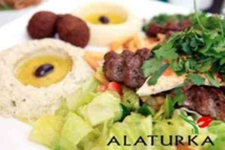 Alaturka - Two Course Turkish Meal For Two With Olives and Bread - Save 58%