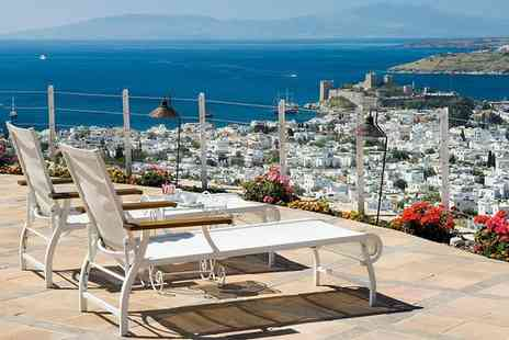 The Marmara Bodrum - Five Star Adults Only Hilltop Boutique Stay For Two - Save 21%