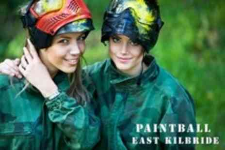 Paintball East Kilbride - Paintballing For Five With 100 Paintballs Each - Save 92%