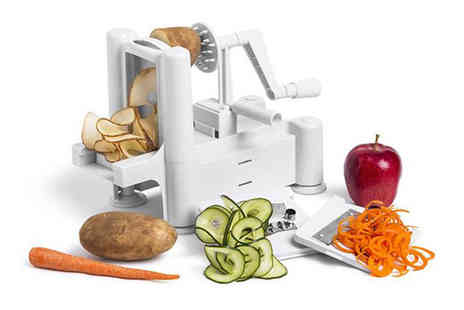 Direct 2 public - Tri blade vegetable spiral slicer - Save 85%