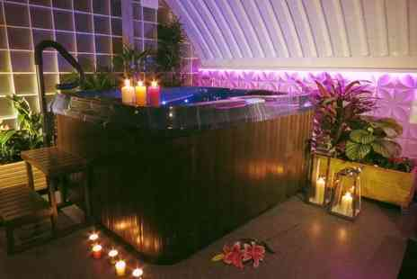 Jade Spa - Five luxury spa treatments for one or two with afternoon tea and mince pies - Save 55%