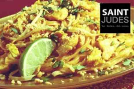 Saint Judes - South East Asian Meal For Two With Singha Beer Each - Save 54%