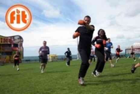 Bfit - Ten Fitness Sessions Such as Boot Camp and Boxercise - Save 76%