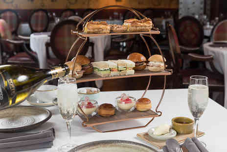 James Martin - Free Flowing Prosecco Afternoon Tea for Two - Save 26%