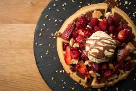 Japes - Sweet or Savoury Crepe or Waffle with Milkshake or Glass of Prosecco for Up to Four - Save 49%