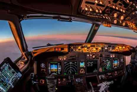 Britannia Flight Simulator - Up to Two Hours of Boeing 737 Flight Simulator with Optional Tuition - Save 44%