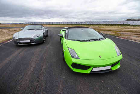 Virgin Experience Days - Double Supercar Blast plus High Speed Passenger Ride and Photo, Weekday - Save 60%