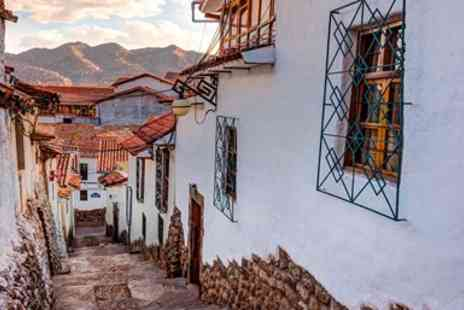 Lumle Holidays - Eleven night guided tour with flights & Machu Picchu - Save 0%