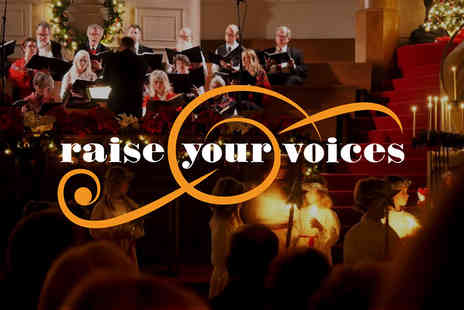 Church Urban Fund - One or two ticket to Christmas Carol Concert Raise Your Voices - Save 51%