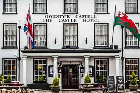 The Castle Hotel - One or Two Nights for Two with Breakfast and Glass of Wine - Save 51%