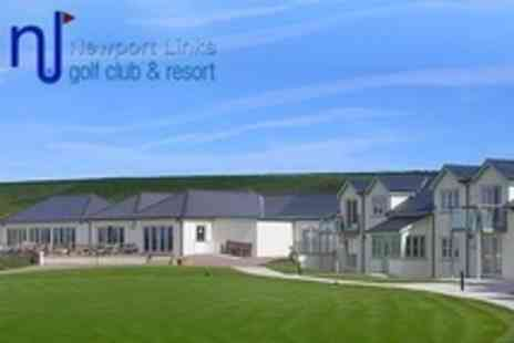 Newport Links Golf Resort - In Pembrokeshire Coast Two Night Stay For Two With Breakfast - Save 57%