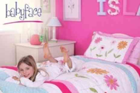 Babyface Designs - Homeware £15 for £40 To Spend on Childrens Bedroom Products - Save 63%
