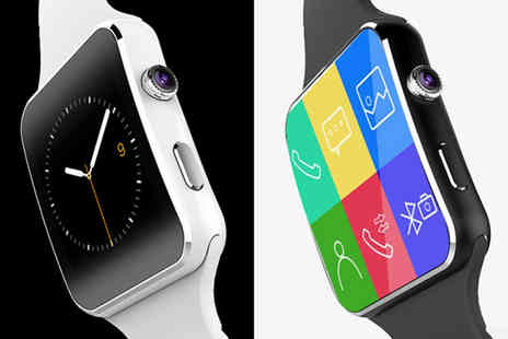 Charles Oscar - Next Generation Apple or Android compatible watch choose between black and white designs - Save 87%