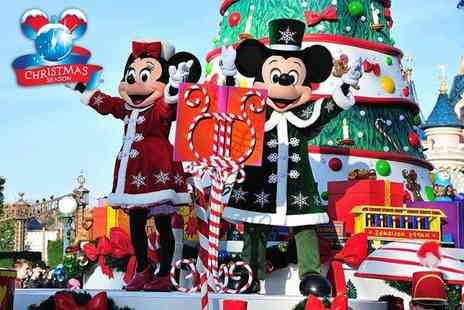 Coach Innovations - Disneyland Paris Enchanted Christmas overnight dash with entrance ticket and return coach from a choice of 11 pick up points - Save 19%