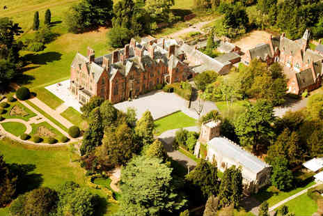 Wroxall Abbey Estate - Four Star one or two night Warwickshire stay for two people with breakfast and spa access - Save 50%