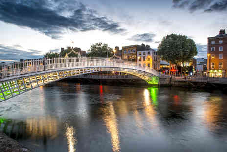 Tour Center - Two or three night Dublin spa hotel getaway with return flights - Save 34%